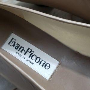 Evan Picone Shoes - Evan Picone Woman's Beige Leather Pump